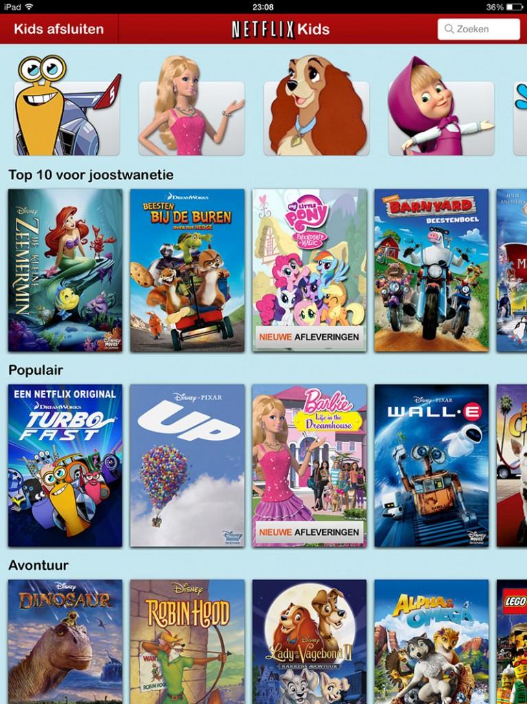Netflix Kids iPad